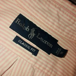 Small-classic fit RALPH LAUREN collared shirt